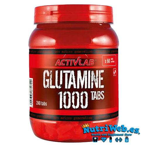 Activlab Glutamine 1000 (240 tab) - Nutriweb