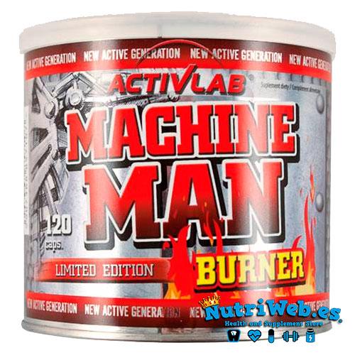 Machine Man Burner (120 cap.) - Nutriweb