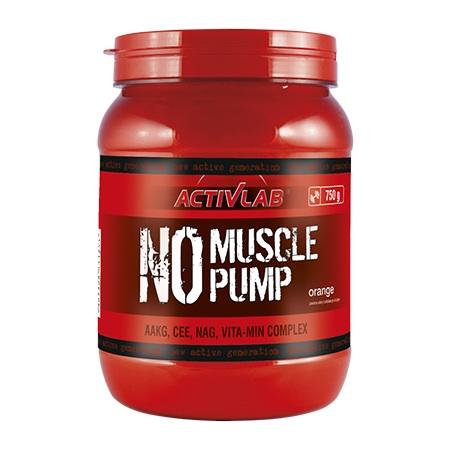 Activlab España - No Muscle Pump Naranja (750 gr)