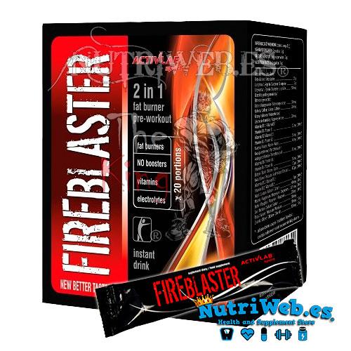 Fireblaster - Fruta tropical (20 stick x 11 gr) - Nutriweb