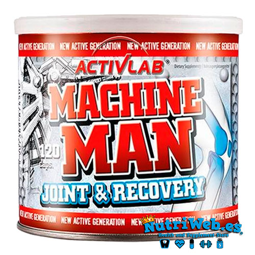 Machine Man Joint & Recovery (120 cap) - Nutriweb