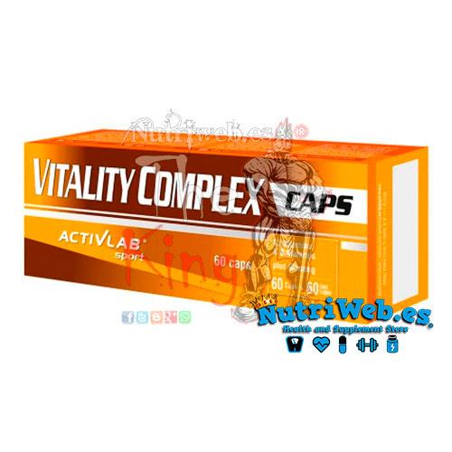 Vitality Complex (60 cap) - Nutriweb