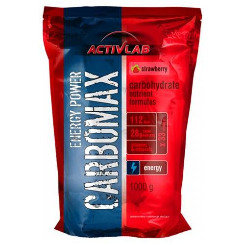Activlab España. Carbomax Energy Power (1000 gr).