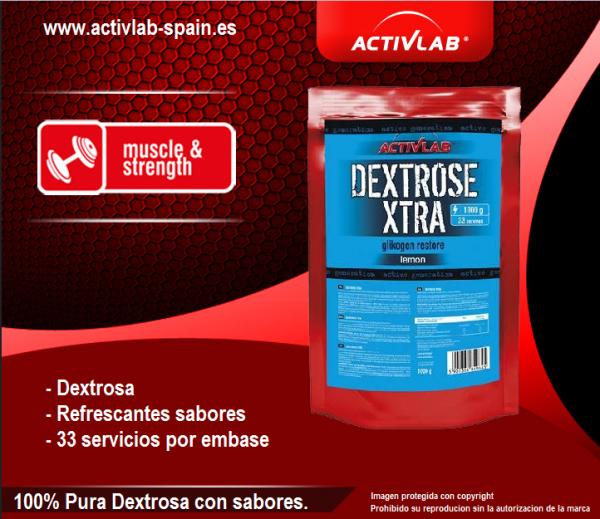 Activla España. Dextrase xtra (1000 gr).
