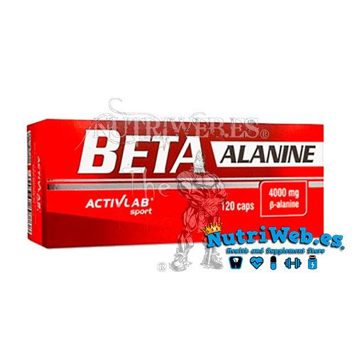 Beta Alanine (120 cap) - Nutriweb