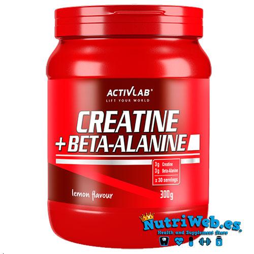 Creatine + Beta-alanine (300 gr) - Nutriweb