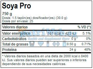 Soja Pro (750 gr) - Nutriweb
