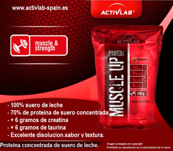 Activlab España, Muscle up protein (700 gr).