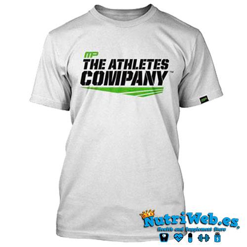 Camiseta de entreno Athletes company white - L - Nutriweb