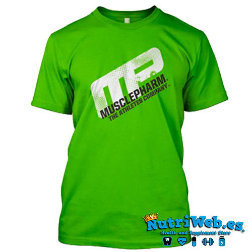 Camiseta de entreno Distressed short sleeve green - L - Nutriweb