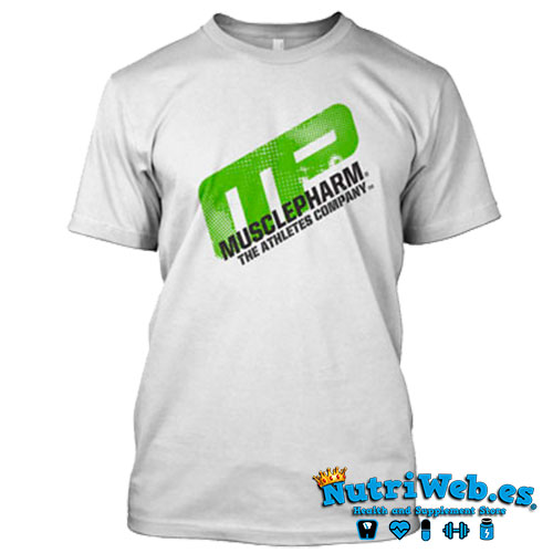 Camiseta de entreno Distressed short sleeve white - L - Nutriweb