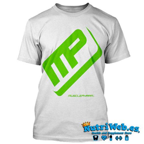 Camiseta de entreno Performance tee white - L - Nutriweb
