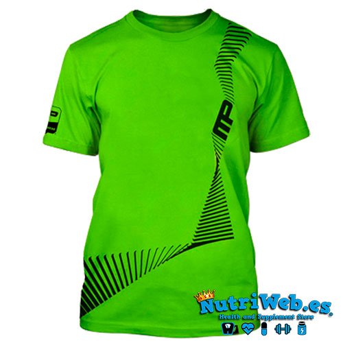 Camiseta de entreno Energy tee light green- M - Nutriweb