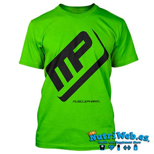 Camiseta de entreno Performance tee green - M - Nutriweb
