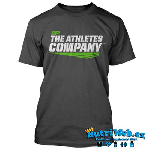 Camiseta de entreno Athletes company grey - S - Nutriweb