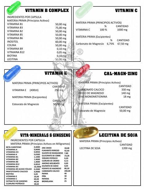 Vitamin Full Pack (30 packs) - Nutriweb