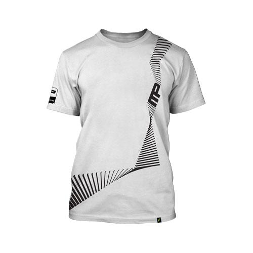 Muscle Pharm sportswear, Energy tee light white