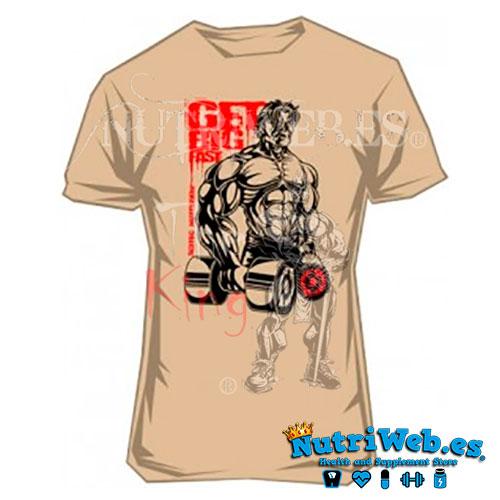 Camiseta de entreno Get big Fast de Scitec nutrition - L - Nutriweb