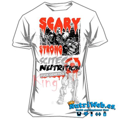 Camiseta de entreno Scary strong de Scitec nutrition - L - Nutriweb