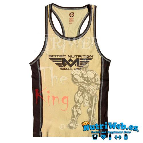 Camiseta de tirantes Muscle army tank top - Nutriweb