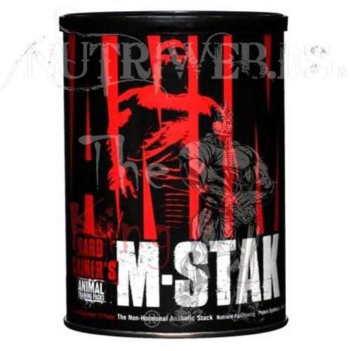 Animal M-Stak (21 packs) - Nutriweb