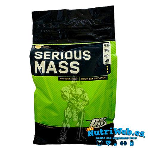 Serious Mass (5440 gr) - Nutriweb