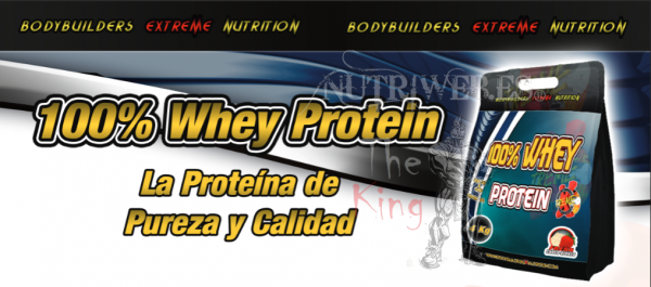 Xtreme nutrition, 100% Whey Protein (4000 gr)