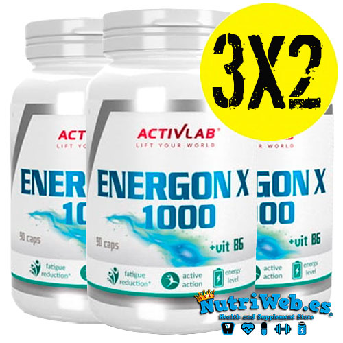 Energon X 1000 (3 uni x 90 cap) - Nutriweb