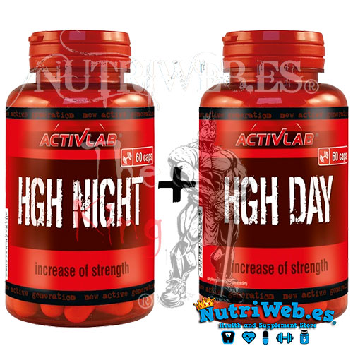 HGH Night + HGH Day (60 + 60 cap) - Nutriweb