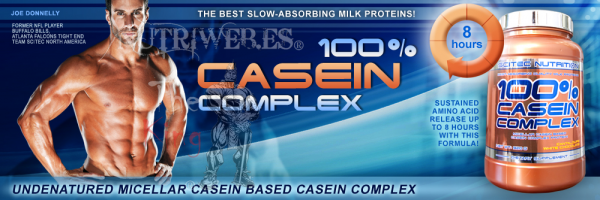 Scitec Nutrition, 100% Casein Complex (920 gr)