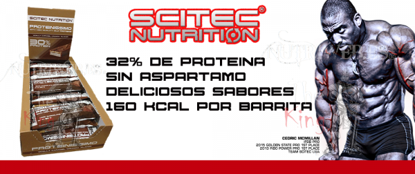Scitec Nutrition, Proteinissimo bars (15 uni x 50 gr)