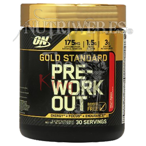Optimun Nutrition, Gold Standard Pre-Workout (330 gr)