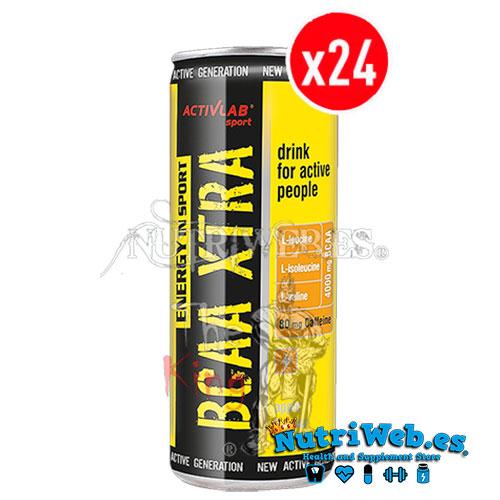Bcaa Xtra Energy in Sport - Manzana (250 ml x 24 unidades) - Nutriweb