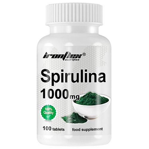 Espirulina de Ironflex Nutrition (100 tabs)