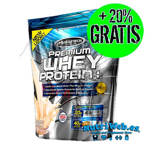 Premium Whey Protein Plus (2270 kg + 20% gratis) - Nutriweb