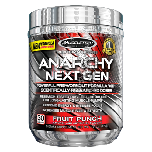 Muscletech, Anarchy Next Gen (185 gr)