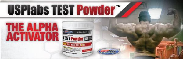 UPS Labs, TEST Powder - Ponche de frutas (240 gr)