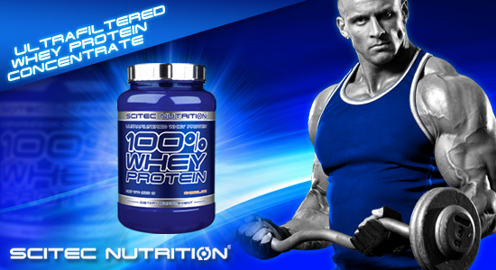 Scitec Nutrition, 100% Whey Protein (2350 gr)