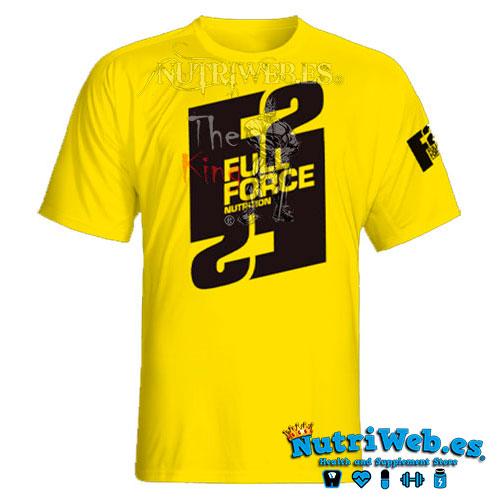Camiseta Full Force Yellow - M - Nutriweb
