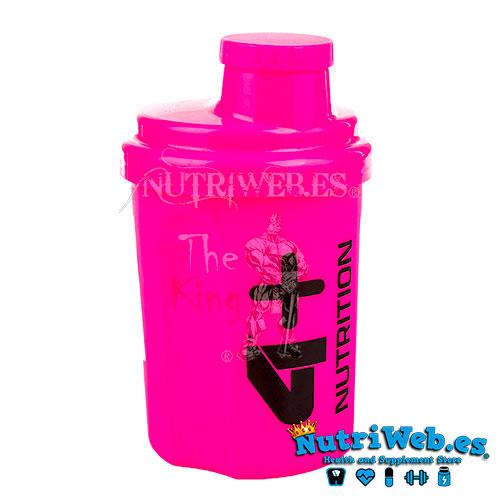 Mini shaker neon pink (500 ml) - Nutriweb