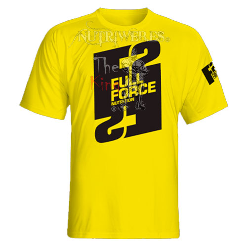 Full Force Nutrition, Camiseta Full Force Yellow