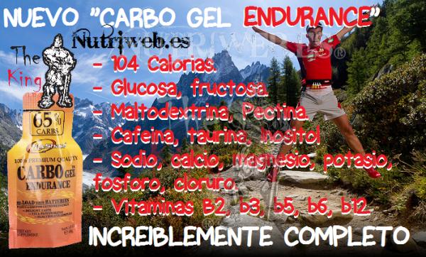 Fit&shape, Carbo gel endurance (40 gr)