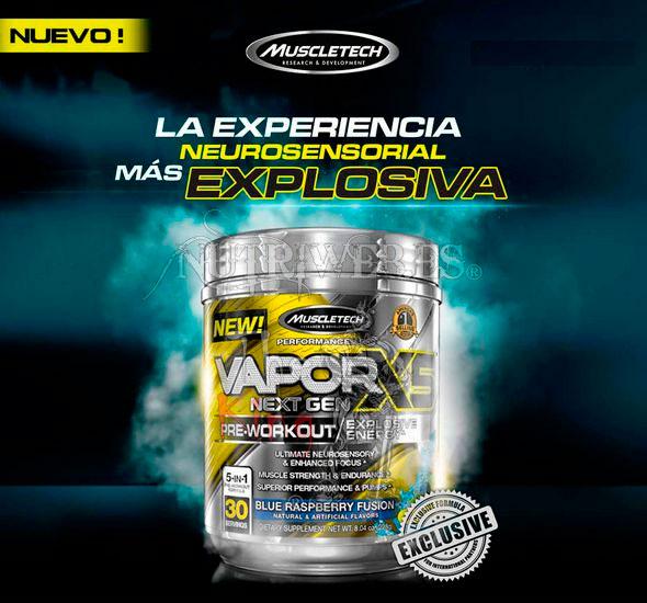Muscletech, Vapor X5 Next Gen (228 gr)