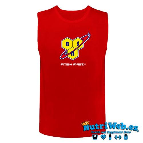 Camiseta de entreno BSN Running Vest Mens - L - Nutriweb