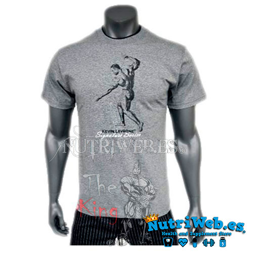 Camiseta Kevin Levrone Double Neck (Model 1) - Nutriweb