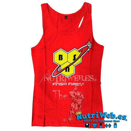 Camiseta Tank Top de BSN - S - Nutriweb