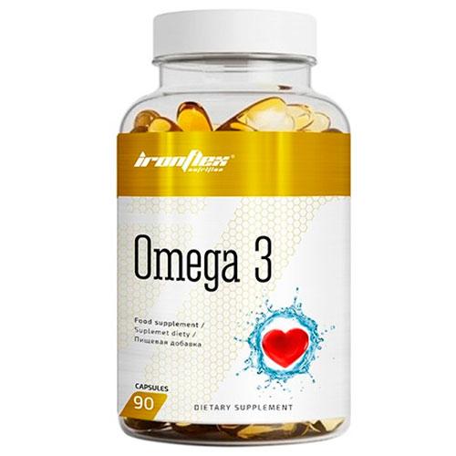 IronFlex Omega 3 (90 grageas) - Nutriweb