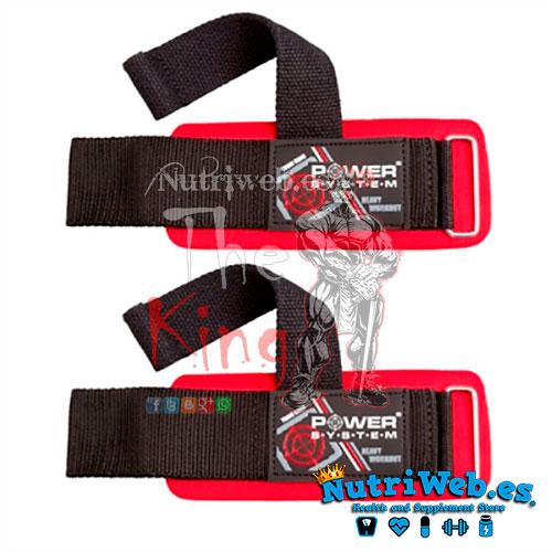 Cincha de tracción con muñequera (1 par) - Nutriweb