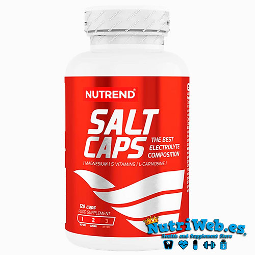 Salt Caps (120 cap) - Nutriweb