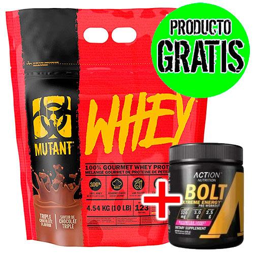 Mutant Whey (4.540 gr) + Bolt (232 gr) - Nutriweb